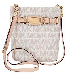 MICHAEL Michael Kors Hamilton Large Crossbody Handbag MK Sig PVC