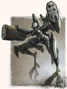 The Exoskeleton Raptor, Julio Zartos