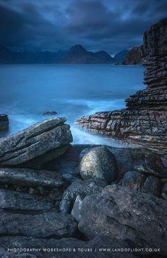 Isle of Skye blue hour at Loch Scavaig & Elgol