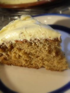 The English Kitchen: Dreamy Banana Cake with Cream Cheese Frosting