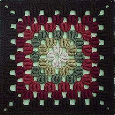 Transcendent Crochet a Solid Granny Square Ideas. Inconceivable Crochet a Solid Granny Square Ideas. Crochet Square Patterns, Crochet Motifs, Crochet Blocks, Crochet Squares, Crochet Stitches, Granny Squares, Granny Granny, Afghan Patterns, Knitting Patterns