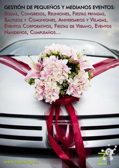 Toso lo que puedas imaginar es posible Wedding Car Decorations, Flower Decorations, Red Wedding, Wedding Car Ribbon, Luxury Wedding, Wedding Events, Wedding Cars, Free Wedding Magazines, Bridal Car