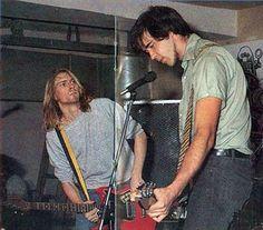 Kurt Cobain & Krist Novoselic