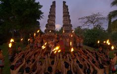Live performances. The Chedi Club at Tanah Gajah, Ubud, Bali. © GHM Hotels