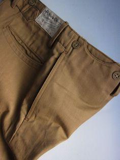 Trouser Detail: