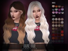 Sims 4 New Hair Mesh downloads » Sims 4 Updates
