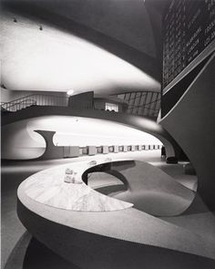 TWA terminal by Saarinen.  Still freaky after all these years and much better than anything Zaha Hadid ever did or will do.