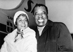 Lucille Wilson and Louis Armstrong