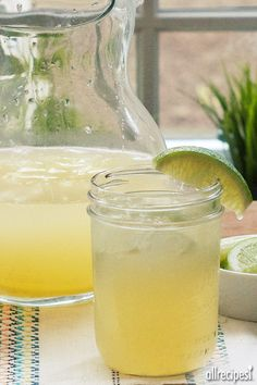 "Beer Margaritas | ""Absolutely love this recipe - you can't taste the beer and everyone's surprised if you tell them it's in there. """