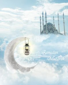 Ramadan Mubarak by ihsaniye on DeviantArt Ramadan Mubarak Wallpapers, Eid Mubarak Wallpaper, Happy Ramadan Mubarak, Eid Mubarak Images, Ramadan Greetings, Ramadan Gifts, Ramadan Wishes Images, Ramadan Photos, Quotes Ramadan