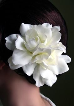 ... and she wore gardenia in her hair (the Chanel N°5 of The South)