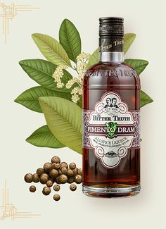 Pimento Dram – The Bitter Truth Bitters, Liqueurs and Spirits
