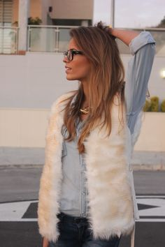 fur and denim