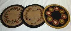 """Image detail for -Penny Rug"""" – 9"""" – $22.00"""