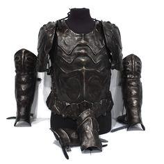 Fantasy Carapace design armour set for LARP, TV, Film and Theatre Larp Armor, Carapace, Pauldron, Fantasy Armor, Costume Design, Armour, Centaur, Characters, Apparel Design