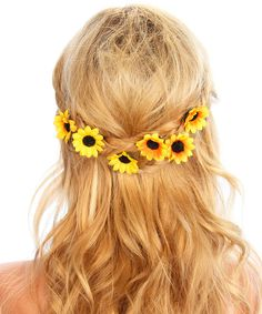 Look what I found on #zulily! Kristin Perry Accessories Yellow & Black Sunflower Hair Pin - Set of Six by Kristin Perry Accessories #zulilyfinds