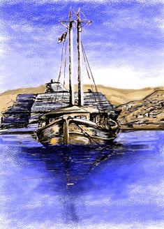 mykonos town watercolor Mykonos Town, Sailing Ships, Watercolors, Boat, Water Colors, Dinghy, Watercolor Paintings, Watercolor Painting, Boats