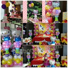 Hello Kitty Set Up