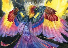 Réveillé par Brenda Lyons - Falcon Lune studio