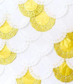 Darling Doily Backdrop | Confetti Pop