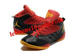 buy online 7f210 fba55 Jordan Fly Wade 2 EV Shoes Black Red Yellow Dwyane Wade Shoes, Red