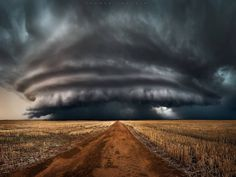 Imagine standing here. The winds were howling from behind me, fuelling this incredible structure right in front of me. The clouds we're…