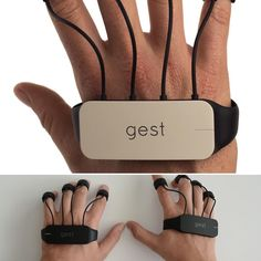 Gest is a wearable that brings interaction to a whole new level.  Go visit: gest.co for more info.  #gestgloves #nerd #nerdalert #techhelp #startup #ondemand #iot #tech #tecnologia #cool #future #coolstuff by _nerdalert