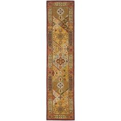 Shop for Safavieh Handmade Heritage Traditional Bakhtiari Multi/ Red Wool Runner (2'3 x 16'). Get free shipping at Overstock.com - Your Online Home Decor Outlet Store! Get 5% in rewards with Club O!