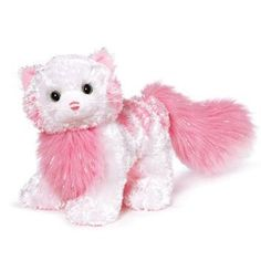 Webkinz Tickled Pink Cat by Ganz,  Not sure i need this but I want it!!