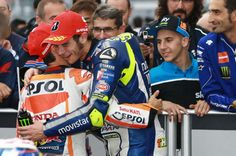 Pedrosa and Rossi, Japanese MotoGP 2015