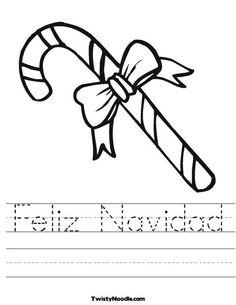 Spanish coloring pages christmas story ~ 8 Best Feliz Navidad images   Preschool christmas ...