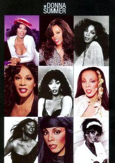 Donna Summer collage