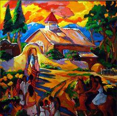 Beautiful - Pat Woodall, Taos artist.