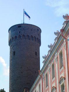 Tallinn Tall Hermann Tower #COLOURFULESTONIA #VISITESTONIA
