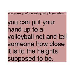 You know you're a volleyball player when. - - You are in the right place about voley Volley Volleyball Chants, Volleyball Problems, Funny Volleyball Shirts, All Volleyball, Volleyball Motivation, Volleyball Setter, Volleyball Training, Volleyball Workouts, Volleyball Posters