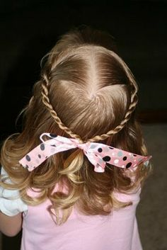 Great site for little girl hair!