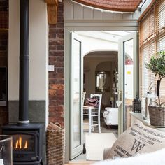 Step inside a pretty French-inspired Victorian cottage in Cheshire Ideal Home, House, Modern Country, Country Cottage Interiors, Modern Country Style, House Tours, Victorian Cottage, Cottage Lounge, 25 Beautiful Homes