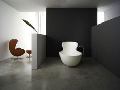 muebles de baño de diseño futurista