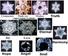 dr. emoto water crystals images - Google Search