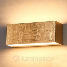 Applique LED dorée Quentin 9625071