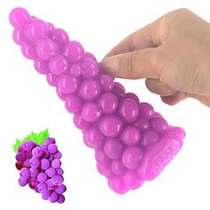 Sexshop New Grape style Sexy Anal Pug Huge Butt Plug Anal Dildo Adult Sex Toys Sex Games Tools Ana Toys Sex Products For couples Pug, Real Bodies, Sewing Lingerie, Tree Shapes, Best Vibrators, Dildo, Cool Toys, Purple And Black, Sexy