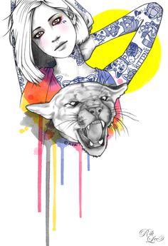 Rik Lee - illustrator    http://www.riklee.tumblr.com/
