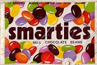 Rowntree Mackintosh Smarties packaging. #mackintosh #smarties  #chocolate  #confectionery  #sweets  #1970s Old Sweets, Retro Sweets, Smarties Chocolate, Chocolate Bars, Biscuits, Vintage Packaging, Vintage Candy, Childhood Days, Vintage Advertisements