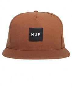 Huf - Box Logo Snapback Cap - $34