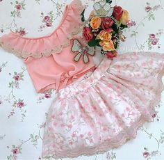 Baby Girl Fashion, Toddler Fashion, Toddler Outfits, Kids Outfits, Kids Fashion, Little Girl Dresses, Girls Dresses, Kids Frocks Design, Sleeves Designs For Dresses