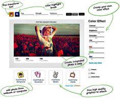 HeaderCover, diseña y personaliza imágenes de portada para Twitter
