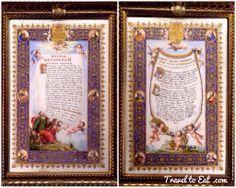 Canon d'Autel on Vellum 19th Century. Treasures of the Tau Palace, Reims