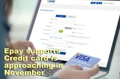Bravo!!! We are delighted to announce that Epay.com supports Credit card is quickly approaching in November.
