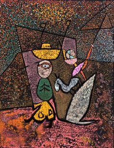 """Circo Ambulante"" - Paul Klee"