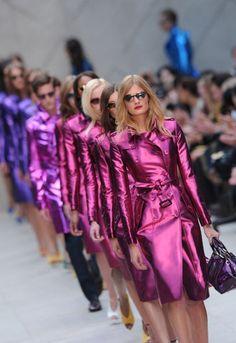 London Fashion Week: Burberry Prorsum spring/summer 2013 - NEED Burberry Prorsum, Burberry 2014, Burberry Trench, Runway Fashion, High Fashion, Fashion Show, Womens Fashion, Fashion Design, Fashion Trends